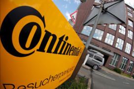 Continental zucht onder crisis in auto-industrie