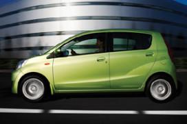 'Daihatsu Cuore is niet de zuinigste auto