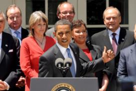 Obama wil vervuiling door auto's fors terugbrengen