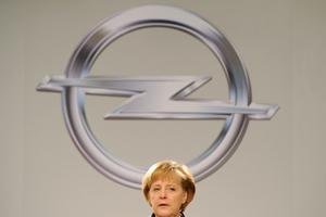 Merkel wil zich met overname Opel bemoeien