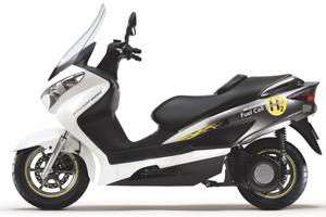 Scooter met brandstofcel