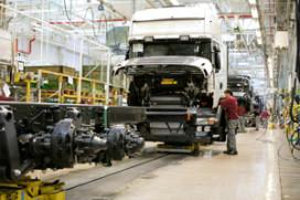 Winst Scania gekelderd