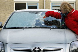 Help auto's probleemloos de winter door