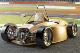 Eindhovense studenten bouwen elektrische race-auto