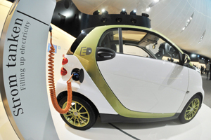 EU-ministers praten over elektrische auto