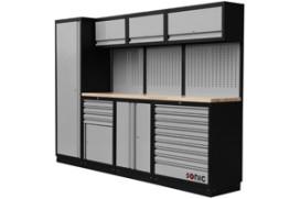 Garage Inrichting Gebruikt : Modulaire werkplaatsinrichting van sonic