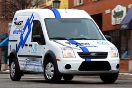 Elektrische Ford Transit Connect In 2011