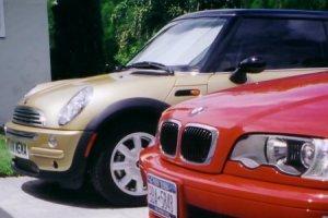 Verschil in acceleratie tussen BMW en Mini (2007-12)