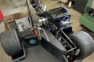 Opbouw van een zijspanrace-combinatie (2008-9)