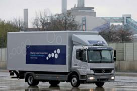 Schone toekomst-plannen van Daimler Trucks (2007-12)