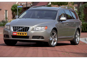 Test Volvo V70 T6 AWD Geartronic Summum (2007-10)