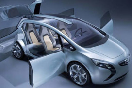 Opel E-Flex-studie Flextreme (2007-9)