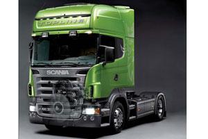 Personenauto-dieseltechniek in Scania Euro 5-krachtbron (2007-11)