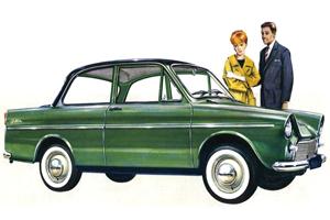 1961: Introductie DAF 750 (1961-9)