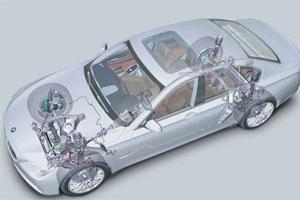 Toonaangevende techniek in BMW 7 (2008-10)