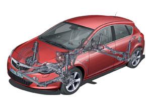 Technische kennismaking nieuwe Opel Astra (2009-11)