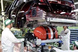 Honda FCX met brandstofcel-techniek (2009-11)