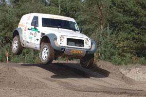 Vorderingen bouw Go-4 Dakar-auto (2009-10)