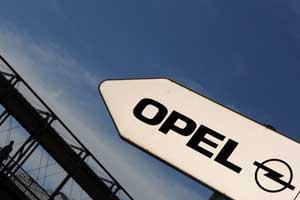 Opel naar China