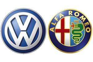 'Volkswagen aast op Alfa Romeo
