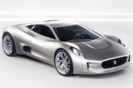 Jaguar met elektrische wielmotoren!