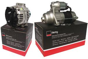 Remy startmotoren en dynamo's bij Brezan