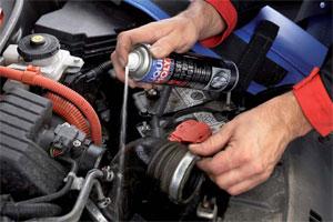 Liqui Moly demonstreert: repareren met werkplaatschemie (2009-12)