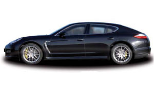 Test Porsche Panamera Turbo (2009-12)