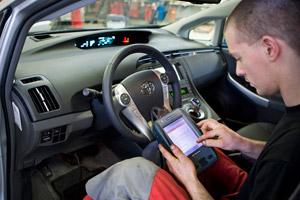 In 2015 minder plaats voor eerste autotechnicus