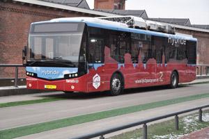 VDL levert hybride stadsbussen