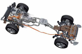 Porsche Cayenne S/Volkswagen Touareg als Hybrid (2010-9)