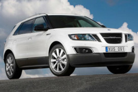 Saab toont nieuwe 9-4X suv op salon Brussel