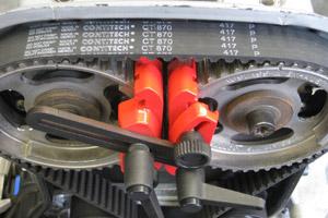 Stap voor stap: distributieriem Opel C18XE vervangen