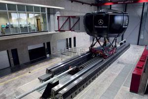 Simulatoren en prototypes wijzen naar nieuwe S-Klasse (2010-12)
