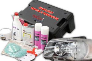 Repareren van bekraste of verweerde koplampen