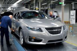 Productie Saab valt weer stil