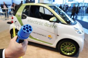 Elektrische auto nog in kinderschoenen