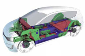 Derde generatie van Volkswagens éénliter auto (2011-2)