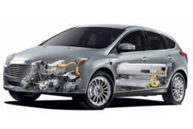 Elektrische Ford Focus en C-Max onthuld (2011-2)