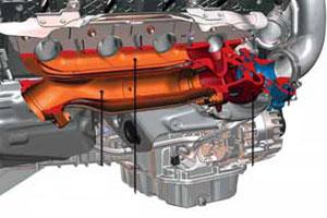 Mercedes V8 boekt flinke milieuwinst (2011-4)