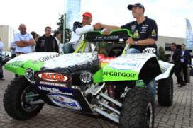 Elektrische Dakar Buggy voor Tim Coronel