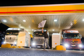 Zuinige Record Run met Mercedes-Benz Actros