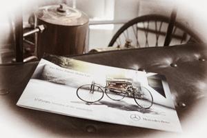 Brochure Benz Patent Motorwagen eindelijk beschikbaar