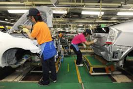 Toyota mikt op recordproductie in 2012