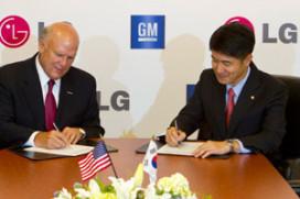 GM en LG samen in elektrische auto