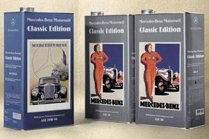 Klassieke olie voor klassieke auto's