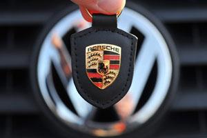 Vertraging fusie Volkswagen en Porsche