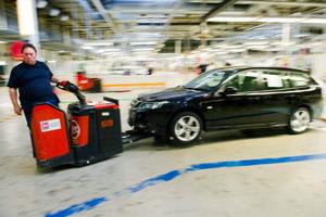 Vakbonden vragen om faillissement Saab