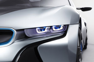 BMW toont koplamp van de toekomst