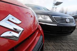 Suzuki en Volkswagen ruziën door